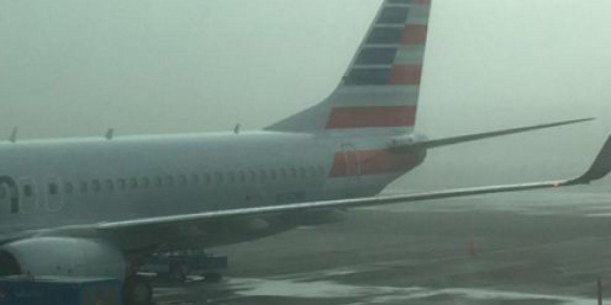 Niebla retrasa salida de vuelos en Aeropuerto La Aurora