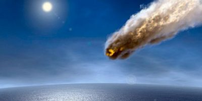 Caen cada 100 millones de años. Si cae uno, este provocaría un gran maremoto. Foto:Astroart