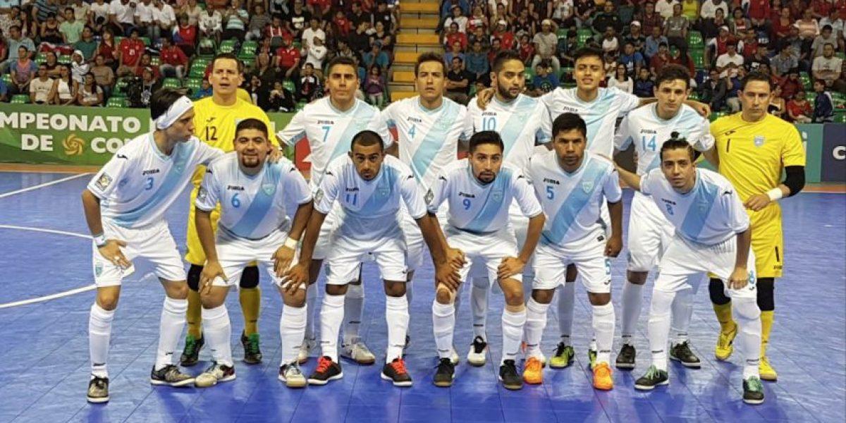 Hacen oficial la nómina de Guatemala para el Mundial de Futsal