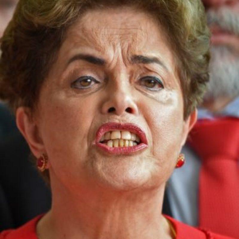 Dilma Rousseff habló sobre su destitución Foto:AFP