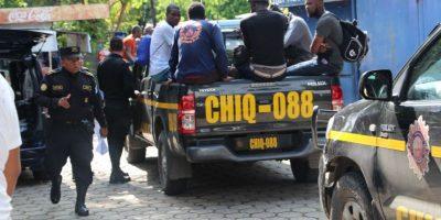 Abandonan a un grupo de africanos indocumentados en Chiquimula