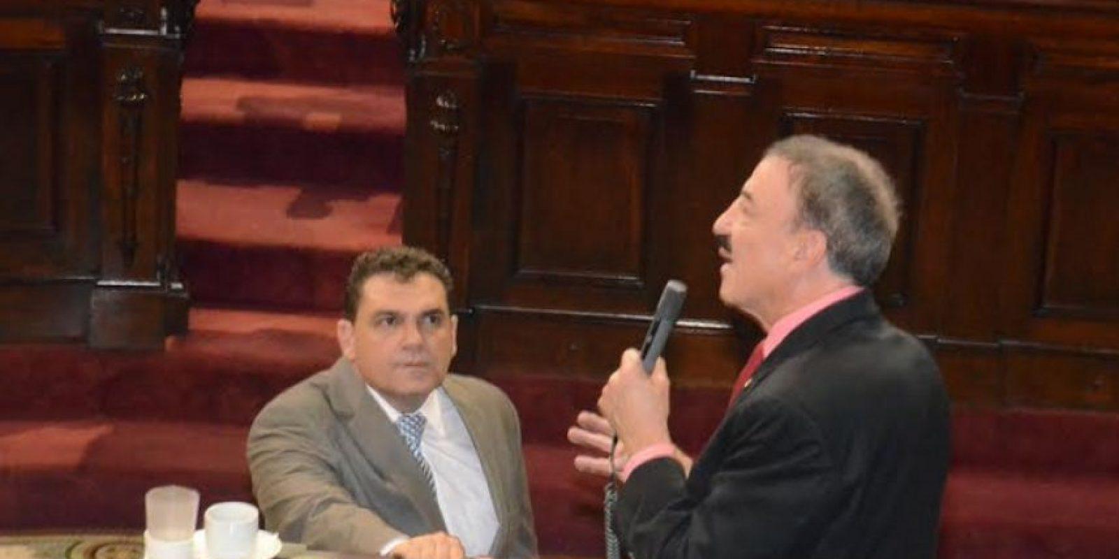 Linares en su intervención en el Congreso Foto:José Castro