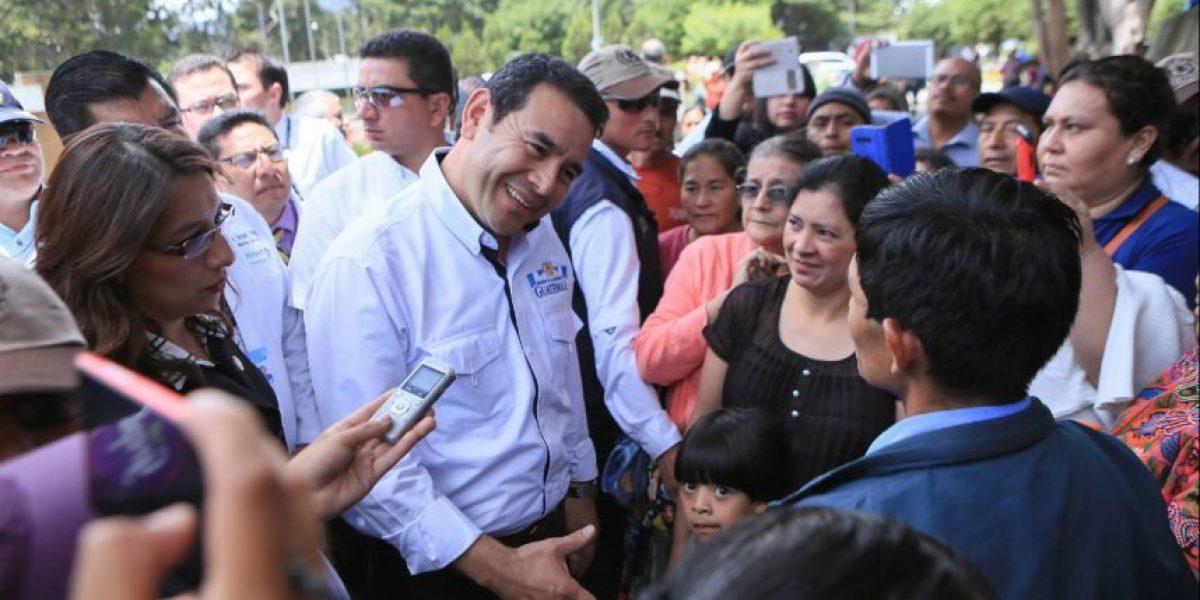 """Presidente Morales: """"El chapín es chispudo para cantinear patojas, porque tiene buena casaca"""""""