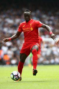 Sadio Mané. Costó 41 millones de euros a Liverpool Foto:Getty Images