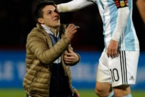 Fue el héroe ante Uruguay Foto:AFP