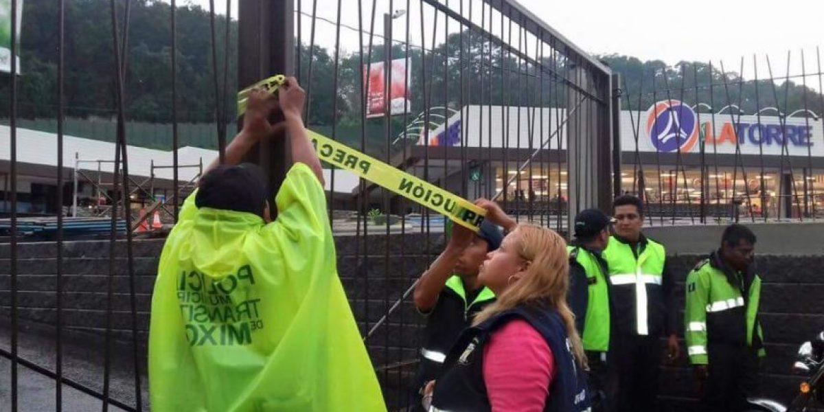 Juzgado municipal ordena cierre de centro comercial en Mixco por contaminación