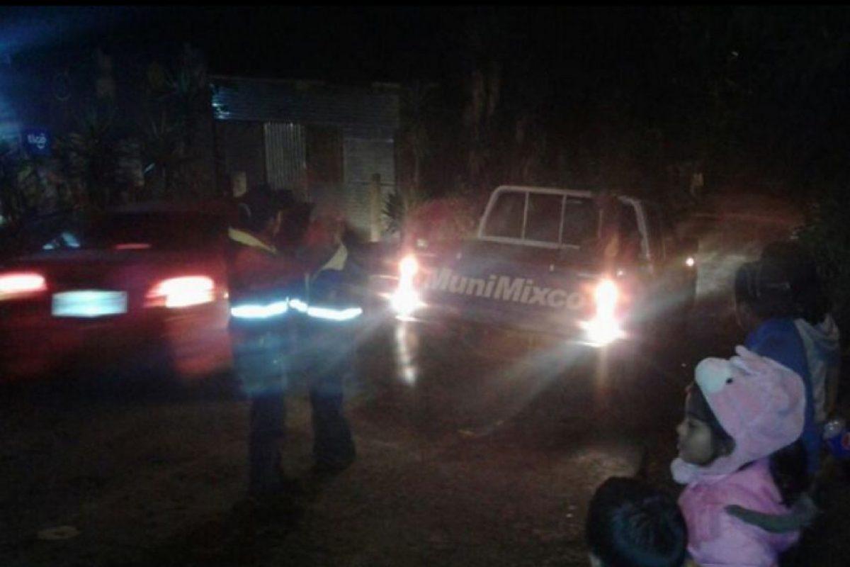 Daños en la aldea El Aguacate, Mixco Foto:Conred