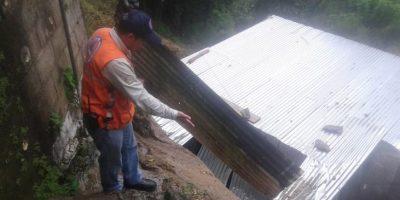 En Mixco y en la capital se reportan daños por las lluvias