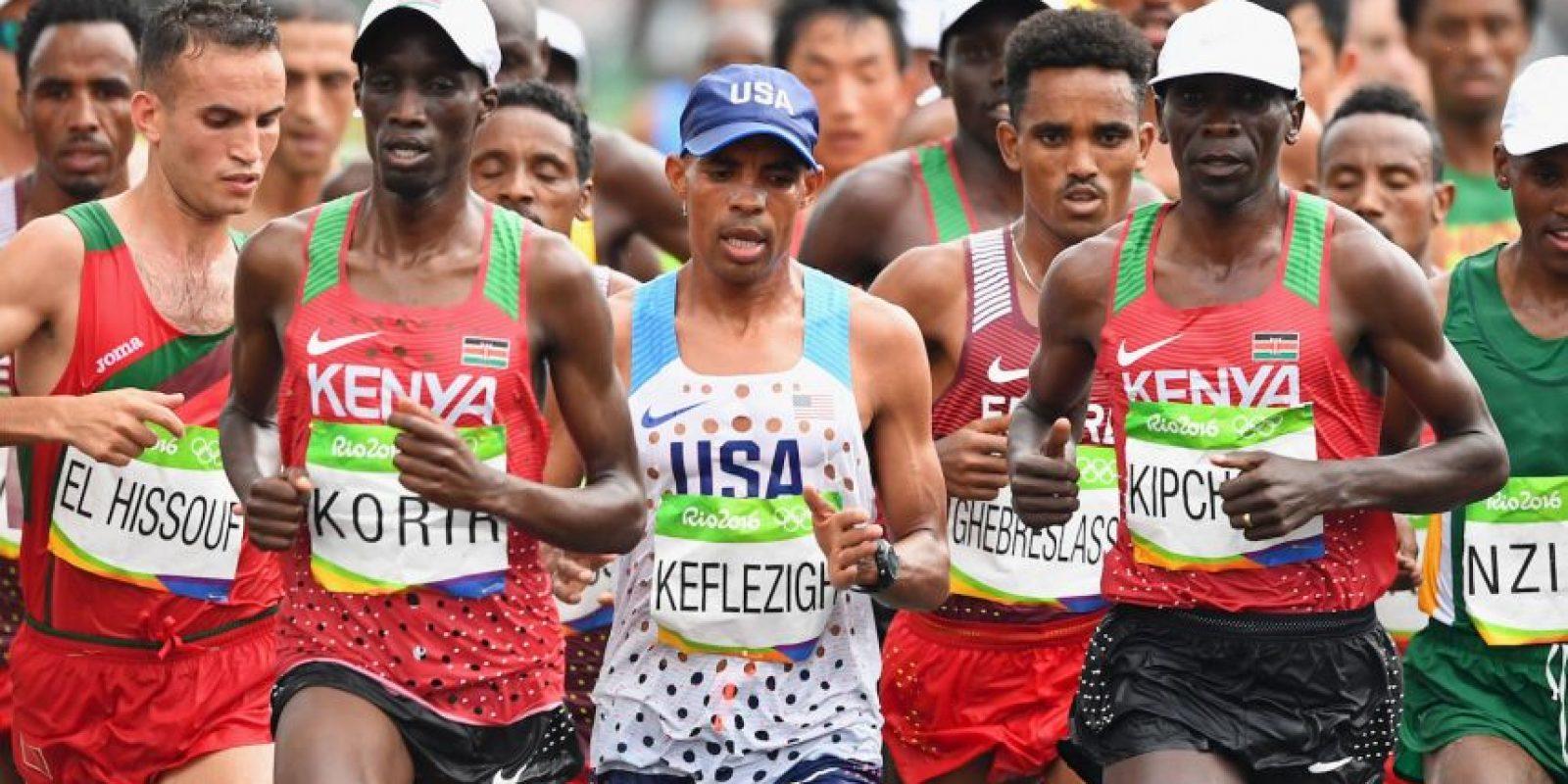 Durante cuatro días, varios atletas de Kenia fueron abandonados en una de las favelas de Brasil Foto:Getty Images