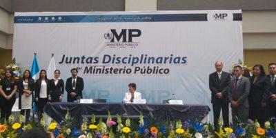 Presentan a integrantes de juntas disciplinarias que sustituyen al Consejo del Ministerio Público