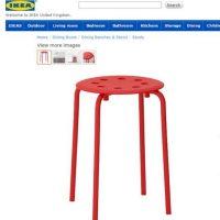 Este es el banco en cuestión. Foto:Ikea