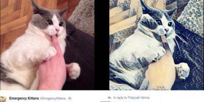 Este bot de Twitter edita las fotos que le envían y las hace arte