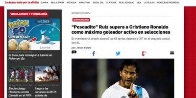 """La prensa internacional destaca el récord de Carlos """"el Pescado"""" Ruiz"""