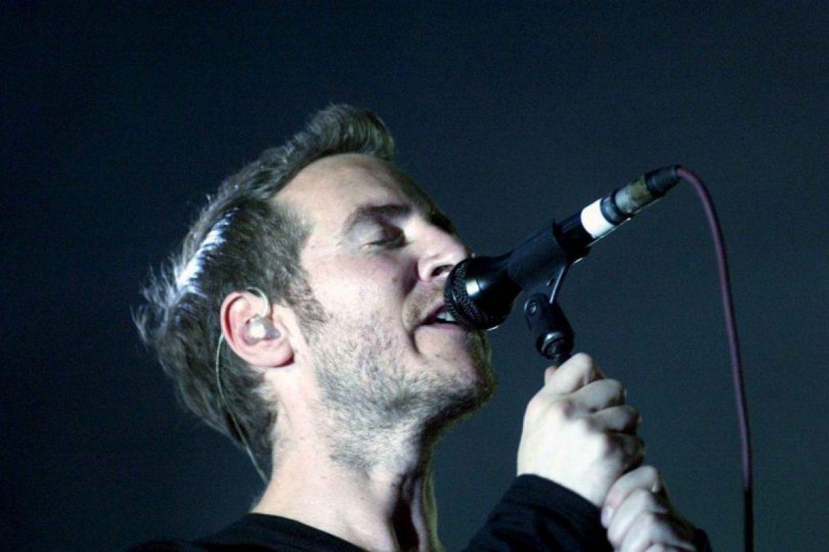 Robert Del Naja es el fundador de la banda Massive Attack Foto:Getty Images