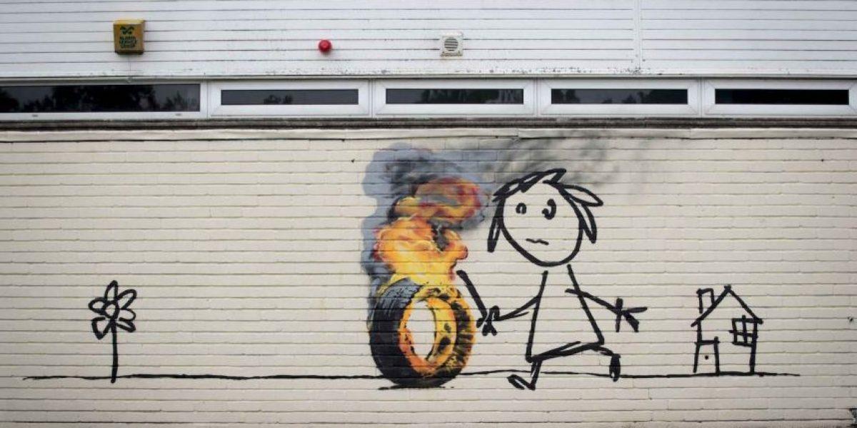 ¿Es Banksy en realidad un integrante de Massive Attack?