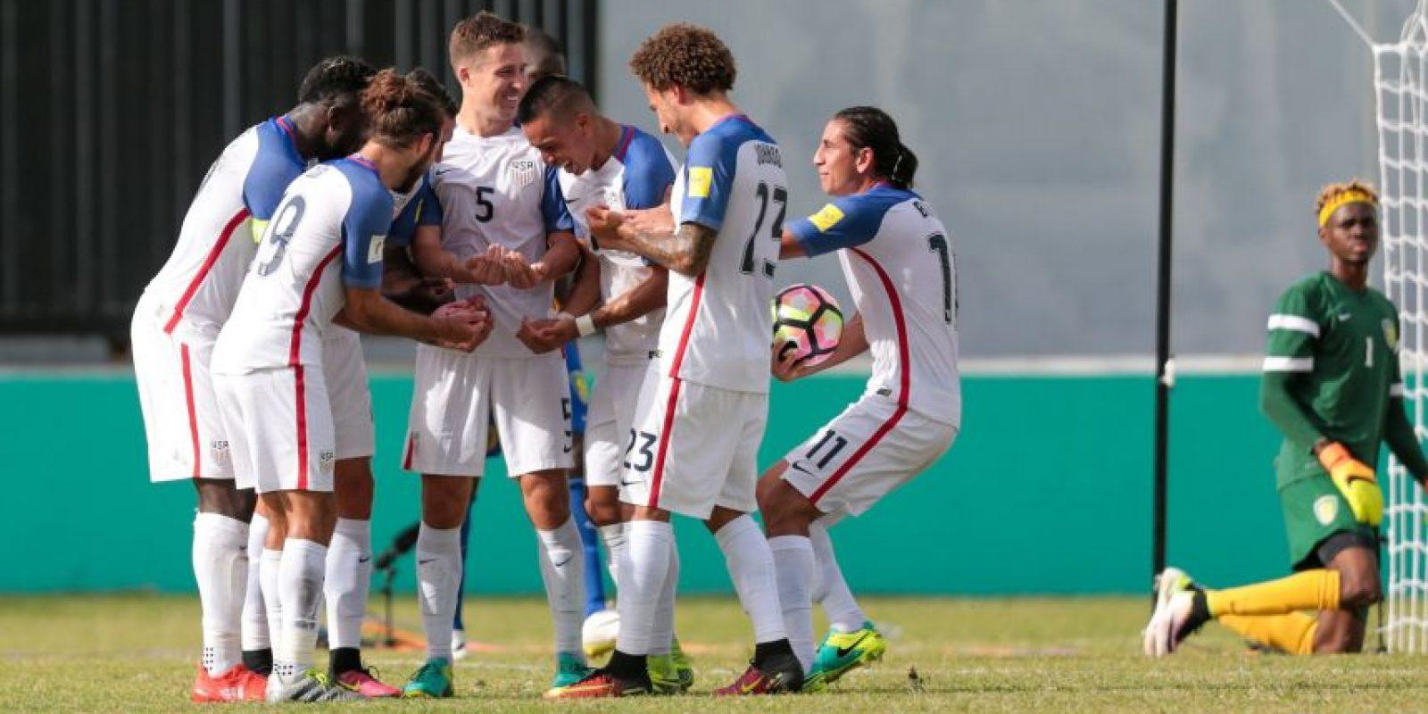 Foto:San Vicente y Las Granadinas vs. Estados Unidos 2016
