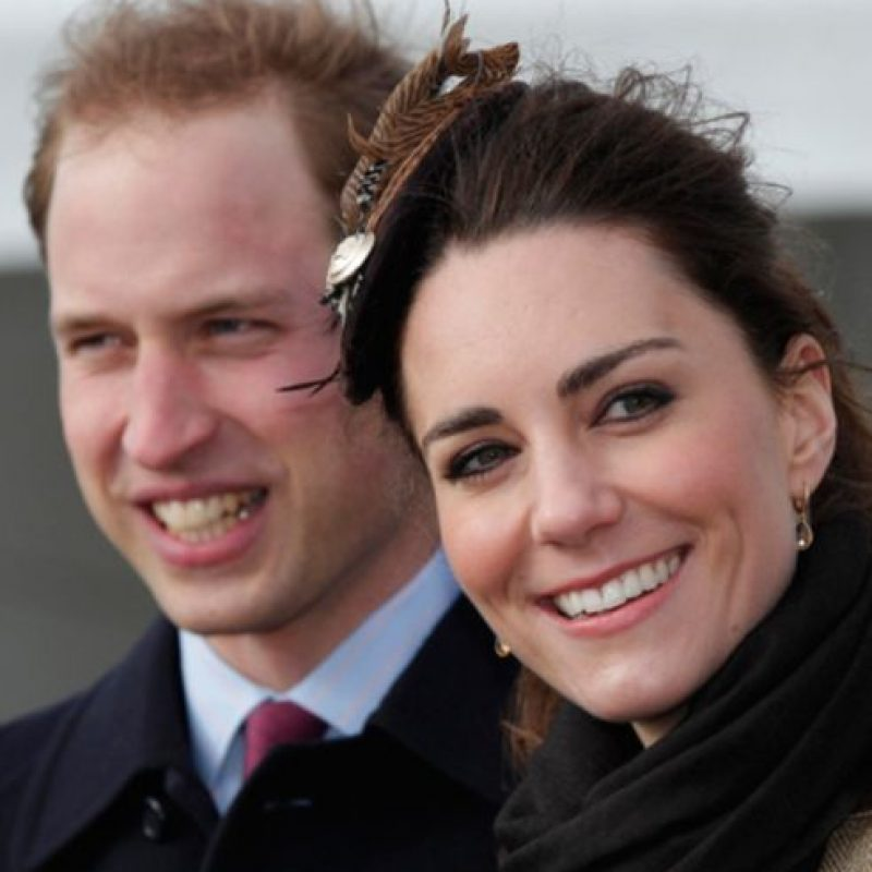 En estas fotos podrán observar más a detalle la nariz de Kate Foto:Getty Images