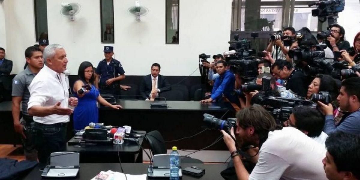 A un año de la captura de Otto Pérez, estos son los casos donde está involucrado