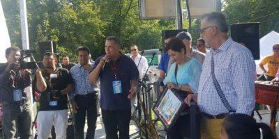 Migrantes en Washington reconocen labor de la fiscal general y del comisionado de la CICIG