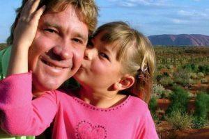 Steve y su hija Bindi en 2005 Foto:Getty Images