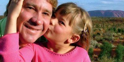 """Así recordó la hija del """"cazador de cocodrilos"""" a su padre"""