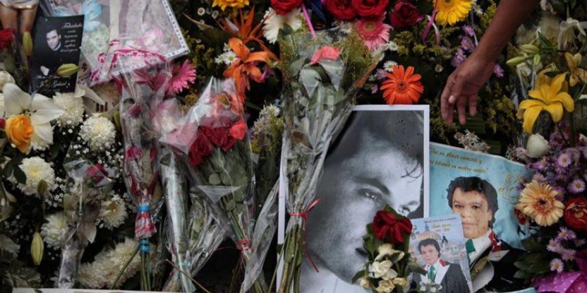 Los restos de Juan Gabriel llegan a Ciudad Juárez