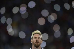 Lionel Messi regresó a la Selección de Argentina Foto:AFP