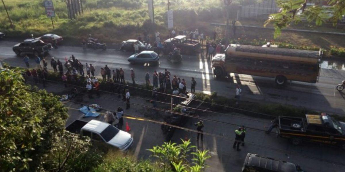 Accidente deja cuatro muertos en ruta al Pacífico