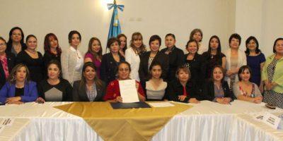 Diputadas crean el foro parlamentario de mujeres Foto:Congreso
