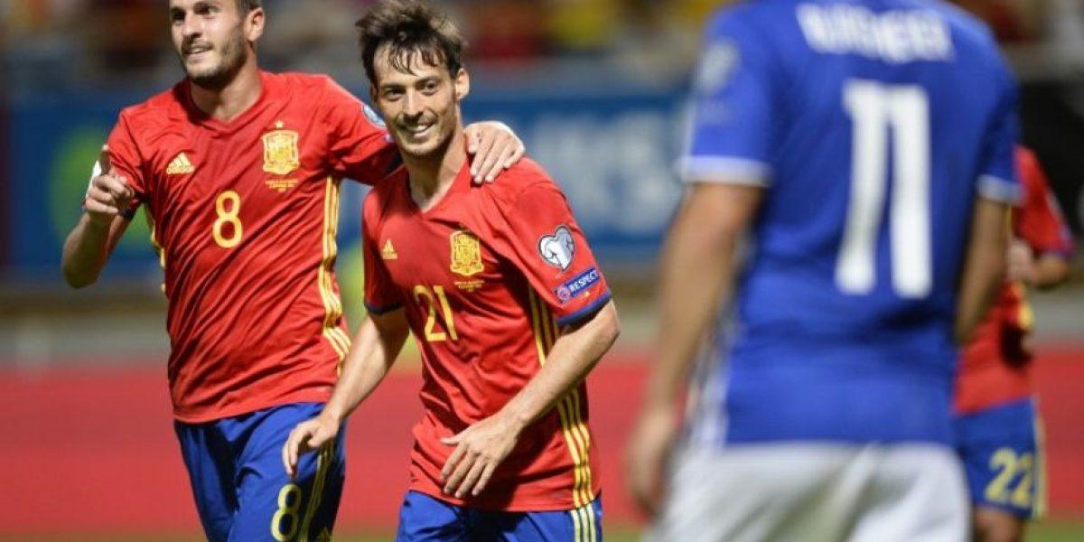 España golea a Liechtenstein e inicia con buen paso su camino a Rusia