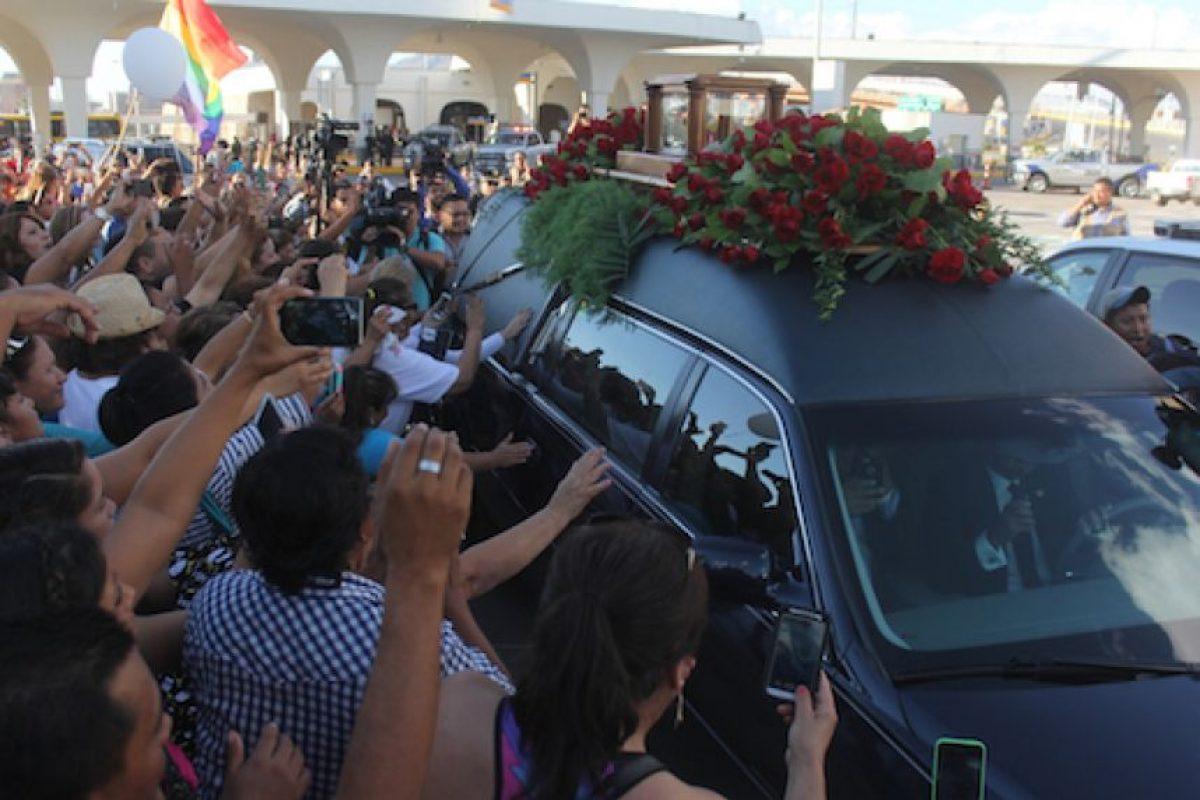 Durante el fin se semana se realizó un homenaje en Ciudad Juárez Foto:AP