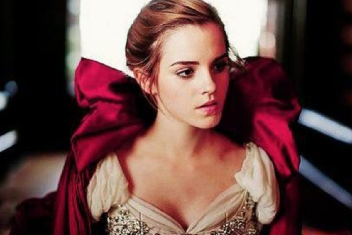 "Emma Watson como ""La Bella"" Foto:Disney"