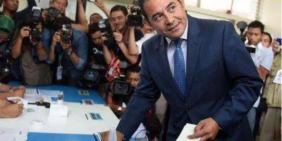 Hoy, hace un año, Jimmy Morales sorprendía al ganar la primera vuelta electoral