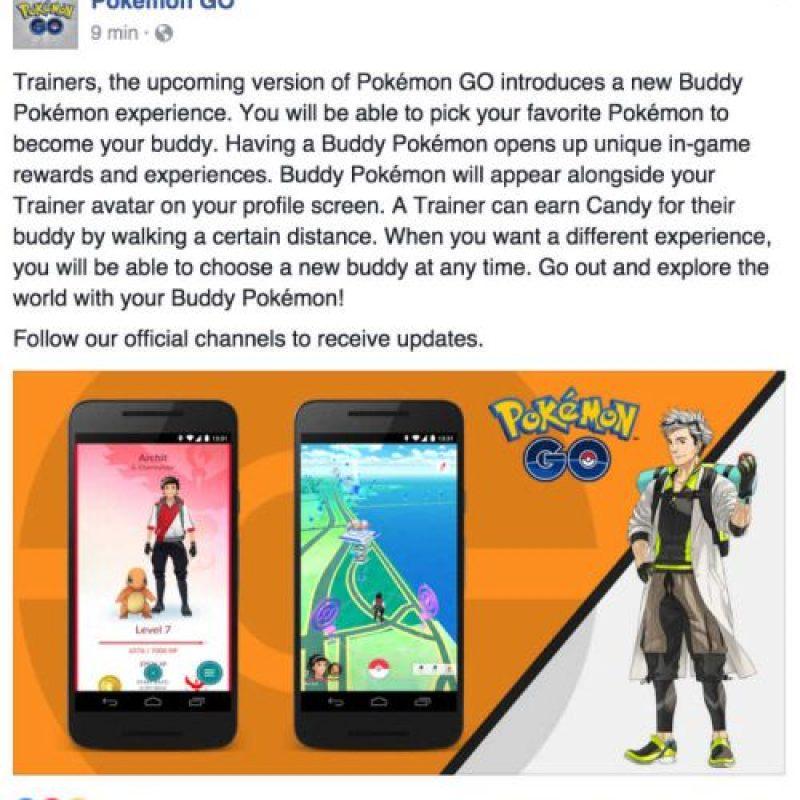 Así lo anunciaron en Facebook. Foto:Facebook