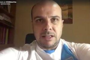 """El periodista y estadígrafo español le deseó suerte a el """"Pescado"""" para el partido de hoy. Foto:Publisport"""