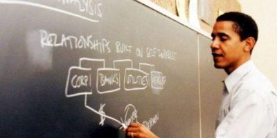 Enseñó derecho constitucional en la Facultad de Derecho de la Universidad de Chicago Foto:Facebook.com/BarackObama