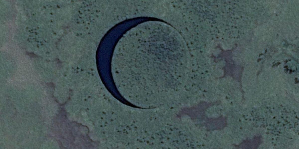 VIDEO: Descubren una misteriosa isla circular que se mueve sola