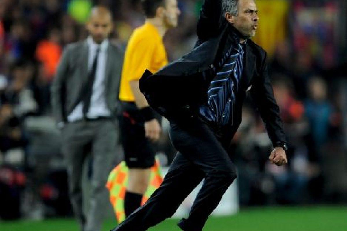 José Mourinho y Josep Guardiola tendrán su primer enfrentamiento en la Premier League Foto:Getty Images