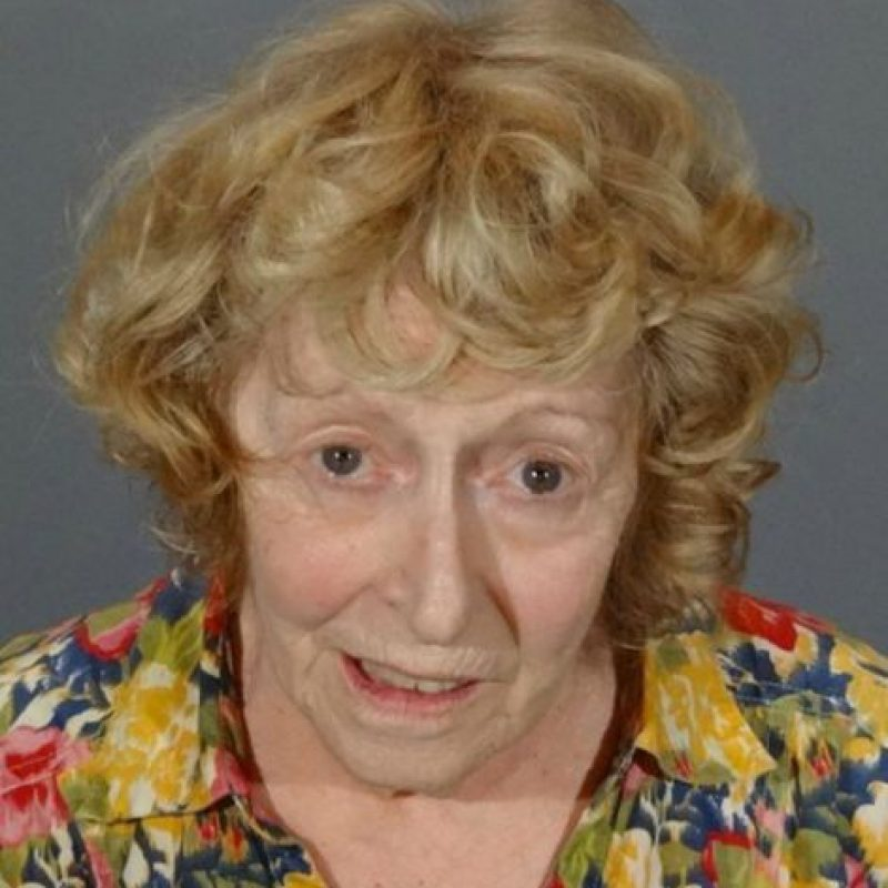 Donna Higgins de 72 años. Es señalada como responsable de conducir en estado de ebriedad Foto:Departamento de Policía de California