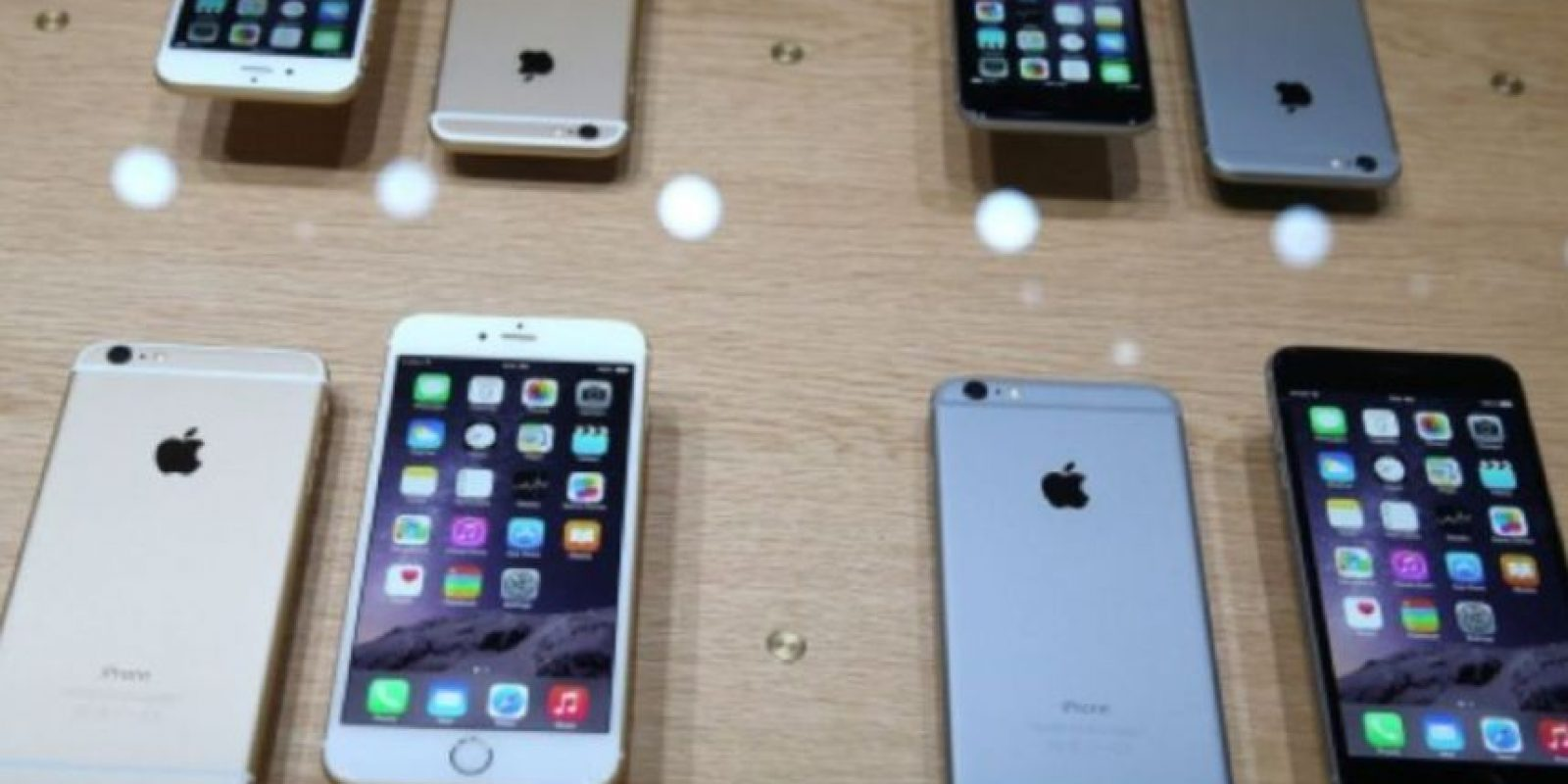 iPhone 6s y 6s Plus (2015) Foto: Getty Images