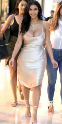 Las curvas de Kim siempre atraen a los paparazzi Foto:Grosby Group