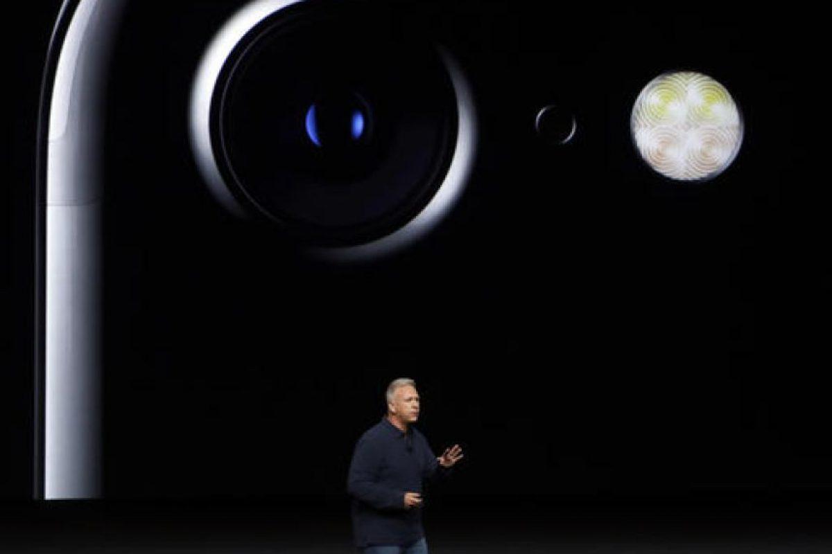 Mientras que el iPhone 7 solamente una Foto:AP