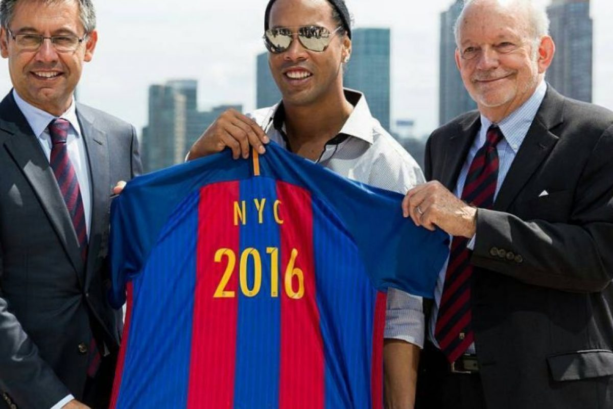 Ronaldinho aseguró que piensa retirarse en un año Foto:Instagram