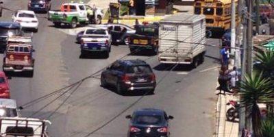 Persecución y enfrentamiento en carretera a El Salvador deja tres personas detenidas