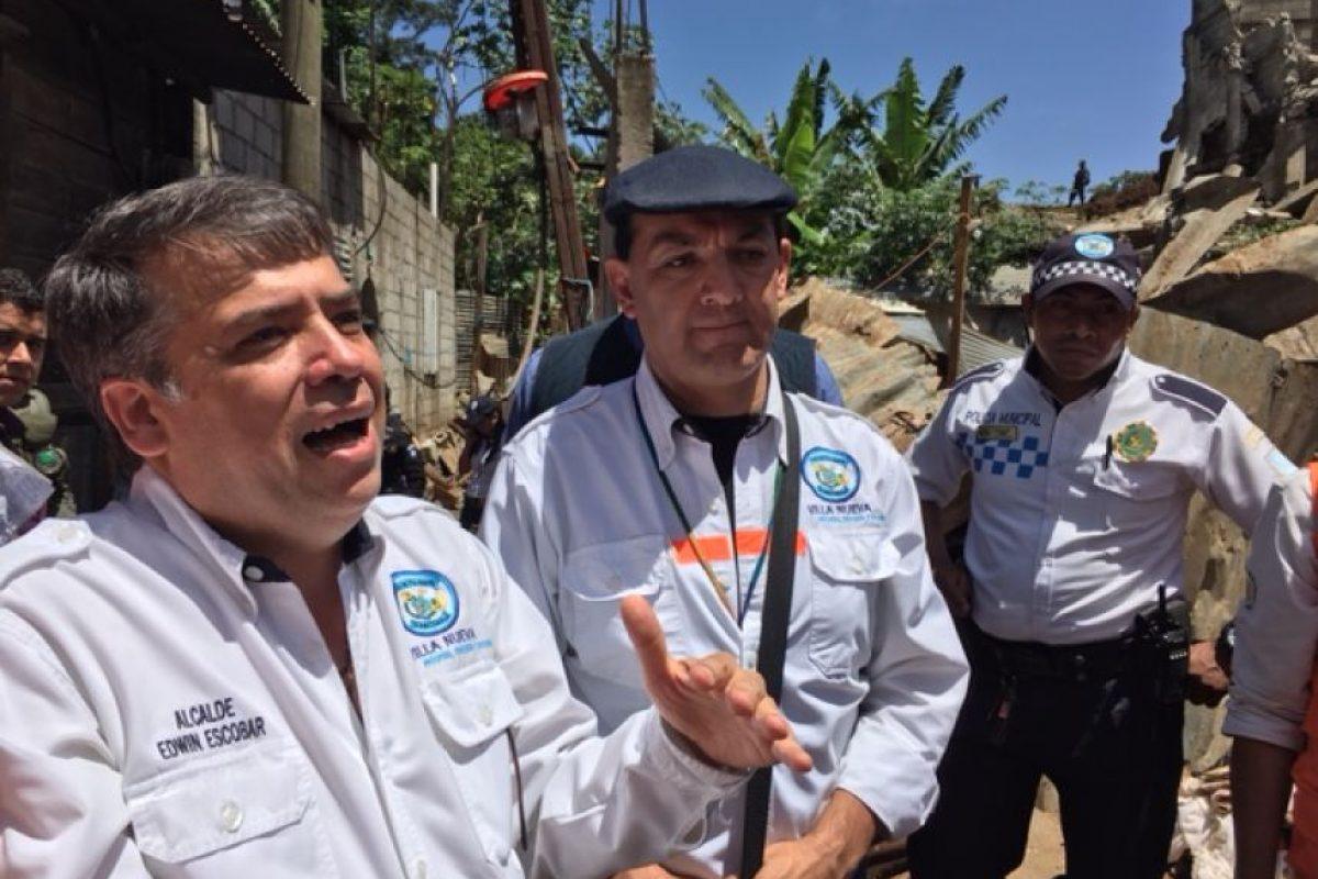 Edwin Escobar, alcalde de Villa Nueva Foto:Publinews