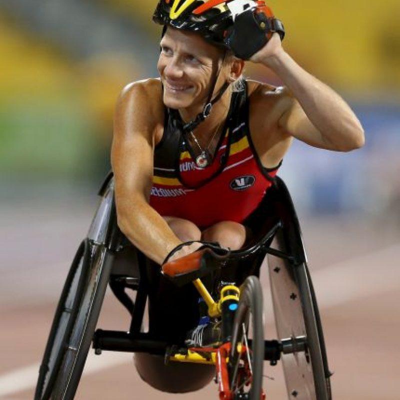 La belga, que busca dos medallas de oro, cuenta con un papel que le permite practicarse la eutanasia Foto:Getty Images