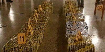 Incautan cargamento de cocaína en costas del Pacífico valuado en más de Q82 millones