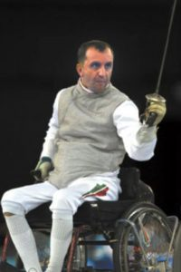 Pal Szekeres. El hungaro es el único atleta que ha ganado medalla en Juegos Olímpicos y Paralímpicos. Foto:Getty Images