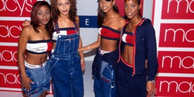 Acá, para Tommy Hilfiger. Foto: Getty Images