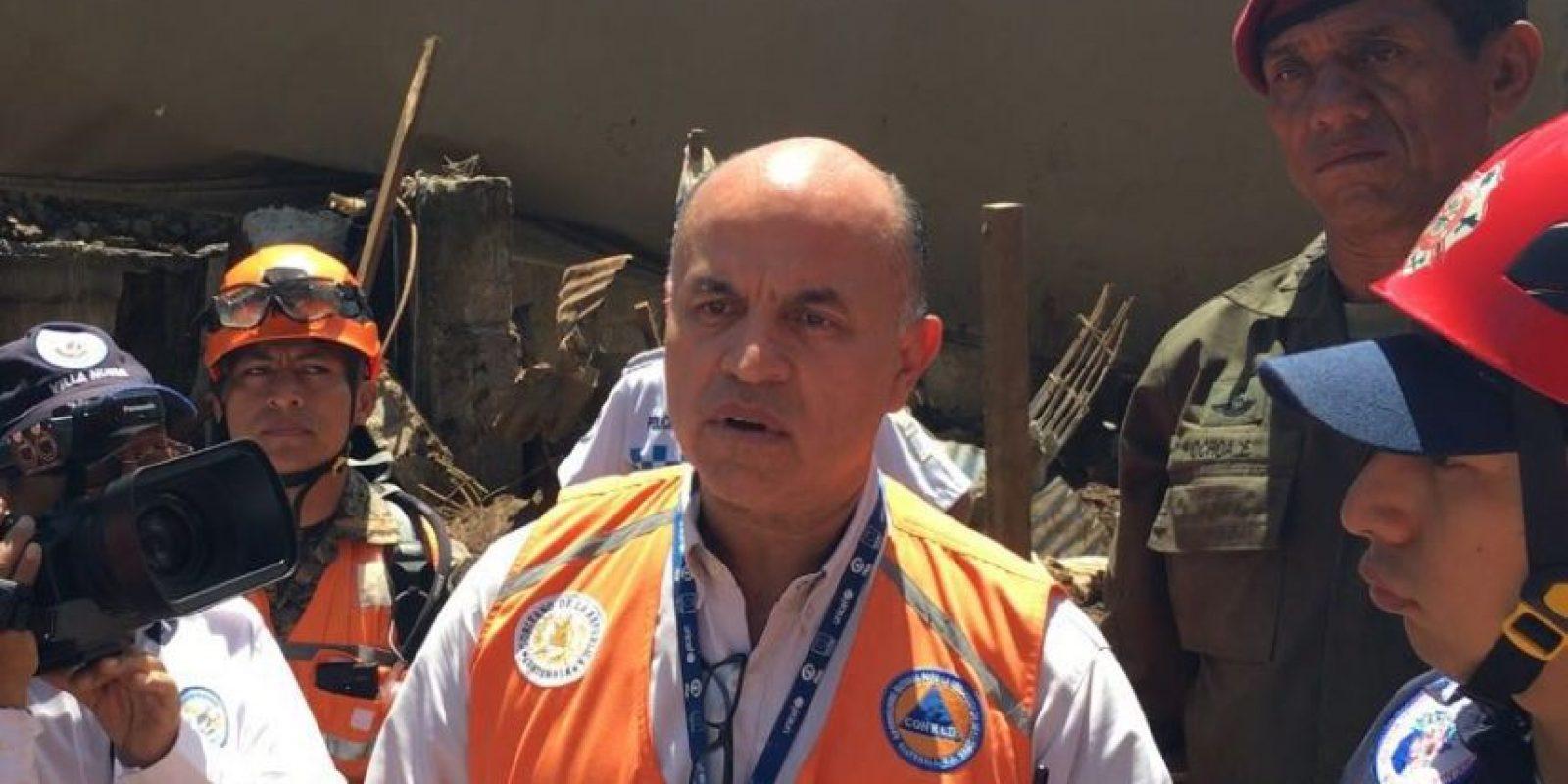 Walter Monroy, representante de la Conred Foto:Publinews